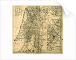 Map of Jerusalem, Biblical Researches in Palestine, Mount Sinai, and Arabia by Anonymous