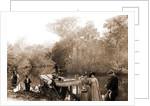 On the Tomoka, Jackson, Tourist trade, Rivers, Alligator hunting, United States, Florida, Tomoka River, 1880 by William Henry