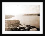 Jupiter Inlet from the lighthouse, Fla, Jackson, Bays, Dwellings, United States, Florida, Jupiter Narrows, 1880 by William Henry