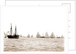 Start, 46-footers, Goelet Cup Race, Regattas, 1891 by Anonymous