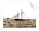 The Volunteer, Goelet Cup Race, August 7, 1891, Nantucket (Steamboat), Volunteer (Yacht) by Anonymous