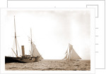After the start, America's Cup races, Regattas, 1893 by Anonymous
