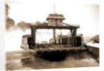 Car ferry, Detroit River, 1880 by Anonymous
