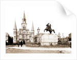 Jackson Square and St. Louis Cathedral, New Orleans by Anonymous