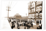 Board walk near the casino, Atlantic City by Anonymous