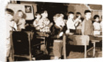 Children in speech class, Classrooms by Anonymous