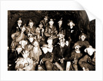 Group of miners underground, Miners by Anonymous