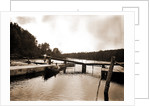 Dam and lock, Saranac River by Anonymous