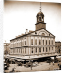 Faneuil Hall, Boston by Anonymous