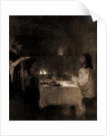 Christ in the home of Mary and Martha by Henry Ossawa Tanner