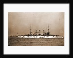 Battleship, probably American by Anonymous