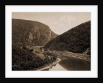 Delaware Water Gap, above the Gap from Winona Cliff, Pa by William Henry Jackson