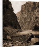 Colorado, second tunnel, Canon of Grand River by William Henry Jackson