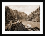 Canyon of Eagle River, west entrance, Colorado, Jackson, William Henry, 1843-1942, Canyons, Rivers, United States, Colorado, Eagle River, 1899, Echo Cliffs, Grand River Canon, Colorado by William Henry Jackson