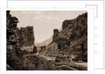 Castle Gate, Utah by William Henry Jackson
