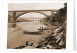 High Bridge & Washington Bridge, Harlem River by William Henry Jackson