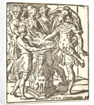 Mucius Scaevola, 16th century by Antonio Campi