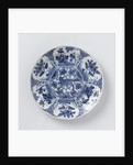 Blue and white Delft pottery by Anonymous