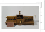 Model of a kiln with a boiler house by Anonymous