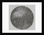 Rijksgestichten Ommerschans and Veenhuizen, home currency beaten by order of the Charity Society worth half cent by Anonymous