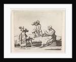 Three farmers, Anonymous by Pieter Jansz. Quast