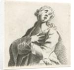 In despair by Caspar Jacobsz. Philips