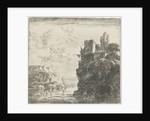 River between rocks by Herman Naiwincx