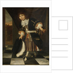 Portrait of a Boy, called The Young Son of Admiral van Nes, The Admiral's Son by François Verwilt