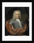 Portrait of Walter Senserff by Jan Maurits Quinkhard