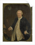 Portrait of Petrus Albertus van der Parra, Governor-General of the Dutch East India Company by Anonymous