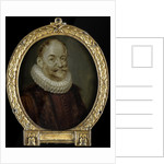 Portrait of Johannes Polyander à Kerckhoven, Professor of Theology in Leiden The Netherlands by Arnoud van Halen