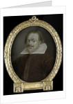 Portrait of Florentius Schoonhoven, Poet in Latin, Burgomaster of Gouda The Netherlands by Arnoud van Halen