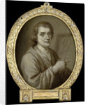 Portrait of Joost van Geel, Painter and Poet in Rotterdam The Netherlands by Jan Maurits Quinkhard