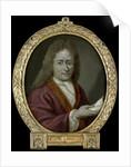 Portrait of Christoffel Pierson, Poet in Gouda The Netherlands by Arnoud van Halen