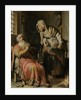 Tobit and Anna with the Kid by Rembrandt Harmensz. van Rijn