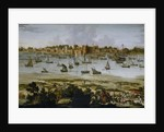 View of the Harbor of Surat in Gujarat India by Anonymous