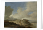 Landscape with a Sign Post by Philips Wouwerman