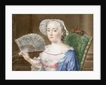 Portrait of a Lady with a Fan by Daniël Bruyninx