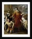 St Paul Healing the Cripple at Lystra by Karel Dujardin