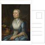 Portrait of Eva Goudriaan-de Veer by Cornelis van Cuylenburgh II