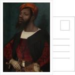 Portrait of an African Man, Christophle le More? by Jan Jansz Mostaert