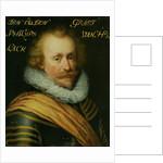 Portrait of Philips, Count of Hohenlohe zu Langenburg by Workshop of Jan Antonisz van Ravesteyn