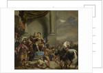 Consul Titus Manlius Torquatus Orders the Beheading of his Son by Ferdinand Bol