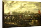 Infantry Battle at a Bridge by Nicolaas van Eyck I