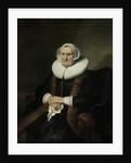 Portrait of an Old Lady, Possibly Elisabeth Bas by Ferdinand Bol