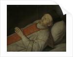 Johannes Puttkammer, Doctor of Divinity in Utrecht, on his Deathbed by Hendrick Bloemaert