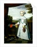 Portrait of Johannes van Rees as a Child by Willem Jansz. Ploy