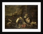Still Life with Fish by R. van Burgh