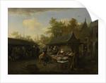 Fish Market by Cornelis Dusart
