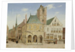 The Old Town Hall of Amsterdam, The Netherlands by Pieter Jansz. Saenredam